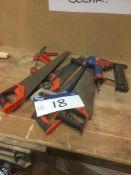 Various Hand Tools & Air Stapler