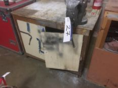 Record 6in/ 150mm Engineers Bench Vice, with wood