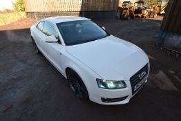 Audi QUATTRO A5 SPORT 2.0TFSI COUPE, registration no. DG58 PXT, date first registered 13/10/08, test