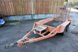 Indespension Twin Axle Plant Trailer, serial no. SDHG268402, 2600kg gross weight