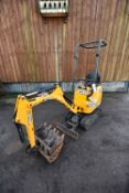 JCB 8008 CTS 950kg TRACKED COMPACT EXCAVATOR, serial no. 02410775, year of manufacture 2015,