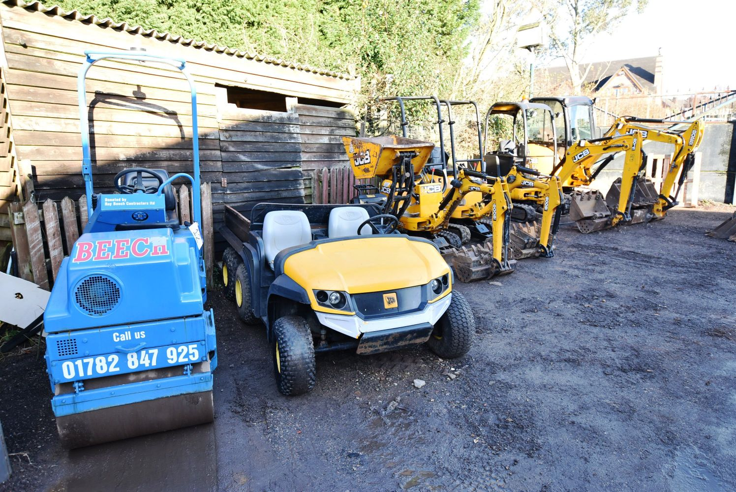 Short Notice Online Auction - Contractors Plant & Equipment, Private, Commercial and Military Vehicles