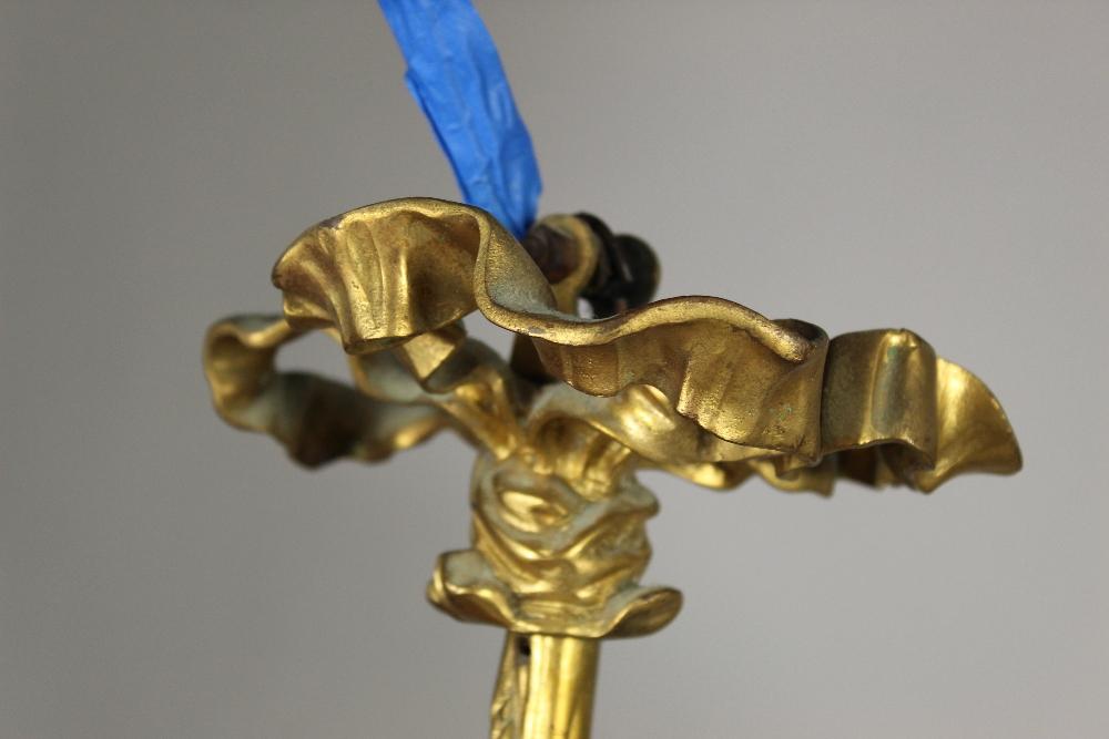 Bronze Cherub Chandelier - Image 9 of 10
