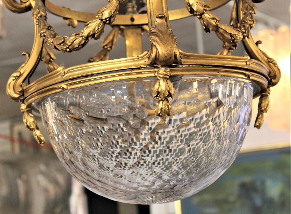 Rare 19th C. French Baccarat Glass Chandelier - Image 4 of 7
