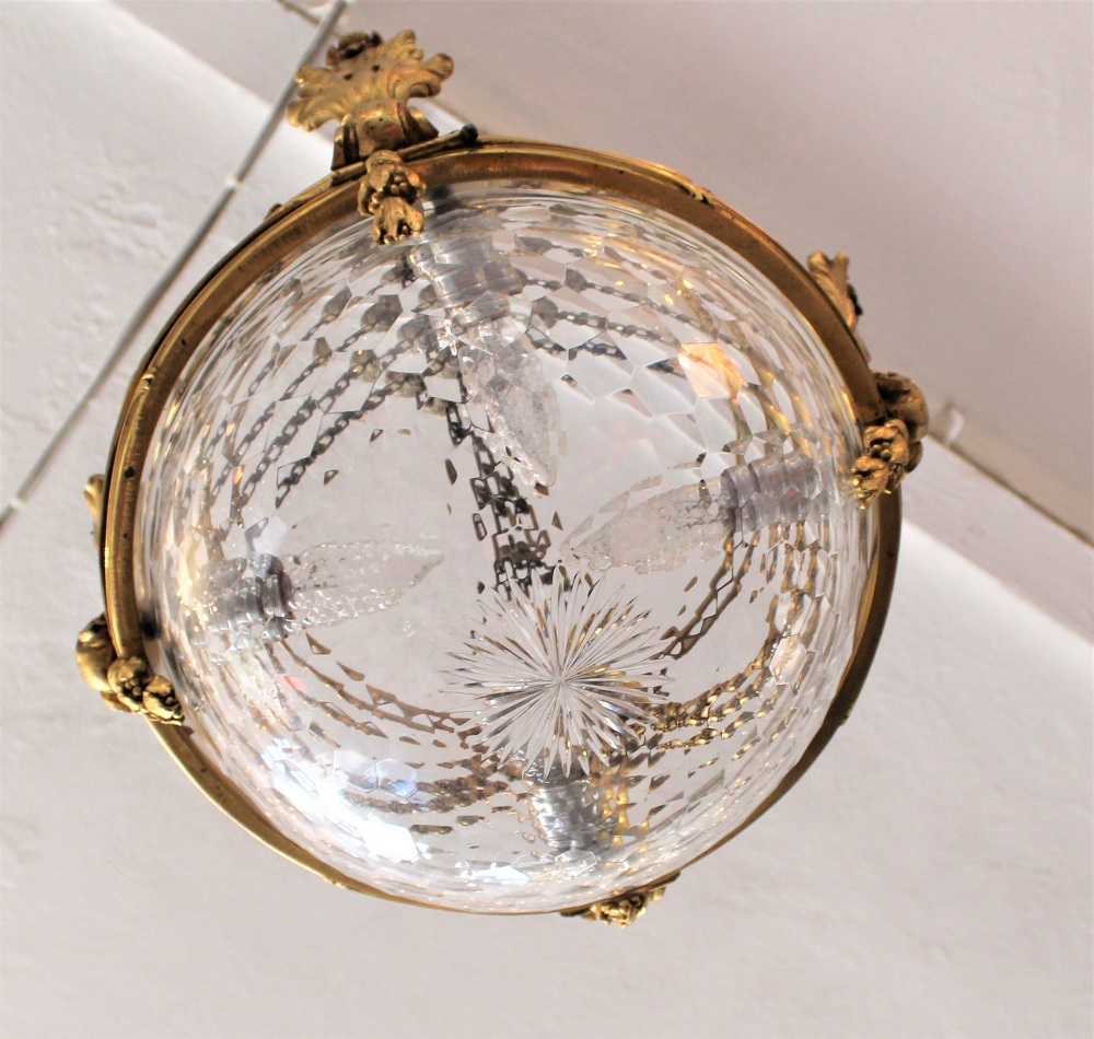 Rare 19th C. French Baccarat Glass Chandelier - Image 7 of 7