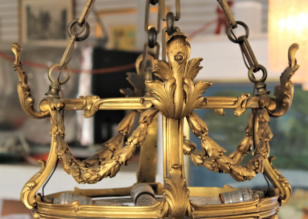 Rare 19th C. French Baccarat Glass Chandelier - Image 2 of 7