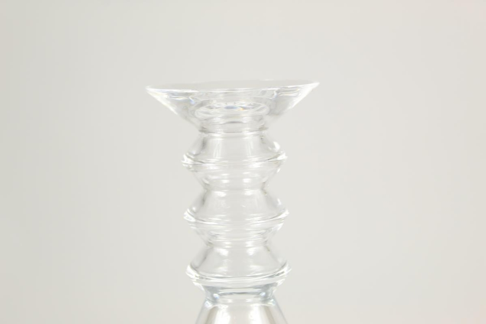 Baccarat Glass Decanter w Stopper - Image 4 of 6