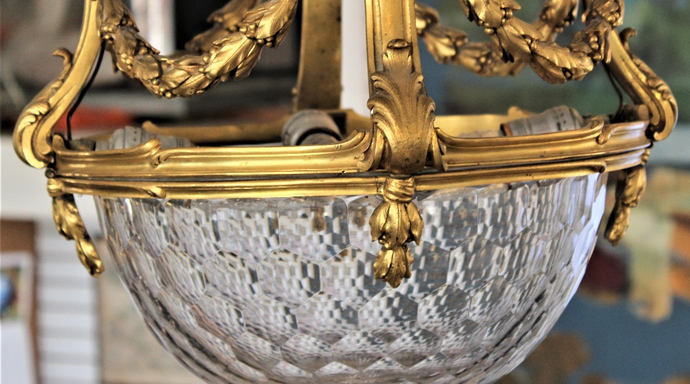 Rare 19th C. French Baccarat Glass Chandelier - Image 3 of 7