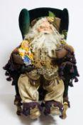 Late 19th C./ Early 20th C. Austrian Santa Claus