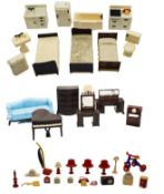 Large Group of Plastic Doll House Furniture