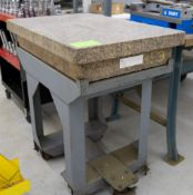 "24"" x 36"" Calibrated Granite Surface Plate w/ Stand"