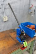 Atmco Model LB-100 DIN Rail Cutter w/ Work Table