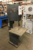 "Sears/Craftsman 18"" - 4 Speed Vertical Band Saw, 3 HP"