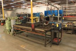 4' x 8' Plasma Cutting Table w/ Miller Spectrum 2050 DC Plasma Cutting System w/ AUTO-LINE, PC &