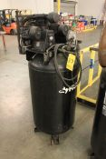 (2013) Husky 5 HP Air Compressor, 80 Gallon Vertical Tank, Model C801H, S/N 20110293145