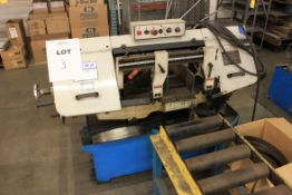 "(2012) Acra 10"" x 16"" Horizntal Band Saw, Model FHBS-250S, S/N 12089607, w/ Box of (Qty. 8) Brand"