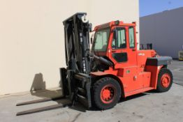 (2013) Heli 30,000 Lb. Cap. Diesel Forklift, Green Series Model CPCD135, Side Shift, Meter Read (