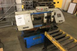 "(2008) Acra 10"" x 16"" Horizontal Band Saw, Model AHBS-250SA, S/N 0805115, w/ 5' L x 14"" Roller"