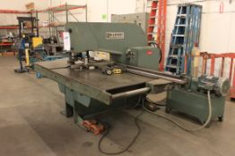 Whitney Mdl. 635A 30 Ton Hydraulic Single Station Punch Fabricator, Duplicator Attachment, Back