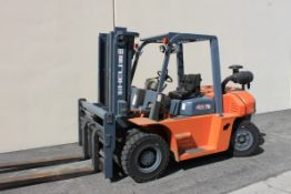 (2012) Heli 15,430 Lb. Cap. Diesel Forklift, H2000 Series Model FD154, Side Shift, Meter Read (