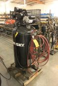 (2013) Husky 5 HP Air Compressor, 80 Gallon Vertical Tank, Model C801H, S/N 20110303936