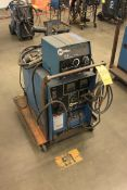 Miller CP-200 Constant Voltage DC Arc Welding Power Source w/ Miller 22A Wire Feeder