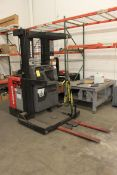 Raymond 3,000 Lb. Cap. Stand Up Electric Order Picker, Model 540-OPC30TT, S/N 540-07-A04758 w/
