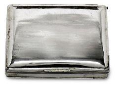 TabatièreSchwäbisch Gmünd, 2. Hälfte 18. Jh.Silber, innen vergoldet. Rechteckige Dose m