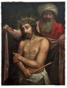 Ecce homoItalien, 17./18. Jh.Der gepeinigte Jesus, dargestellt als Halbfigur mit Lendentuch,