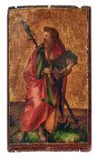 Kleines gotisches Tafelbild mit Darstellung des heiligen PaulusDeutscher Meister des 16.