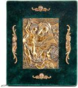 Kleines Relief eines Hausaltars mit Darstellung der Heiligen Familie mit