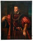 Vecellio (Tizian), Tiziano - Kopie nachAlfonso I. d'EsteKniestück des Herzogs von Ferrara, Modena