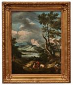 Ricci, Marco - Kreis desLandschaft mit Hirten(Belluno 1676-1729 Venedig) Bergige Landschaft mit