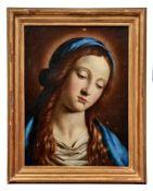 Salvi, Giovanni Battista (gen. Il Sassoferrato) - Kreis desBildnis der Jungfrau MariaItalienische