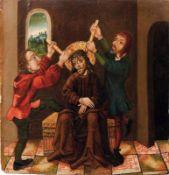 Breu, Jörg - Schule desGotisches Tafelbild mit der Dornenkrönung Christi(Augsburg um 1475/80-1536