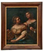 Allegorie der Astronomie und der WissenschaftBologneser Meister des 17. JahrhundertsZwei weibliche