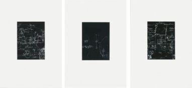 Beuys, JosephTafel I, II und III(Kleve 1921-1986 Düsseldorf) Drei Serigrafien, 1979/80. Jeweils