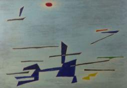 Singier, GustaveAbstrakte Komposition(Warneton/Belgien 1909-1984 Paris) Farbradierung mit Aquatinta.