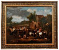 Huchtenburgh, Jan van - Attrib.