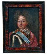 Bildnis eines Adeligen in Prunkrüstung
