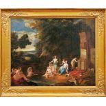 Diana und ihre Gefährtinnen beim Bade