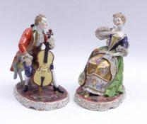 Cellist und Sängerin