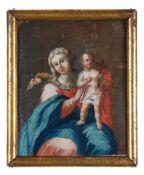 Madonna mit dem Kreuz tragenden Jesuskind