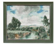 Sommerliche Flusslandschaft