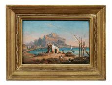 Hafenbucht an der Adriaküste