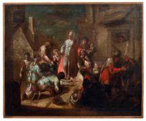Jesus heilt die Blinden und Lahmen