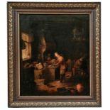 Ein Alchemist in seinem Labor