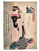 Kikukawa Eizan und Utagawa Kunisada