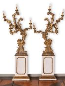 Barockes Leuchterpaar