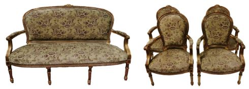 Sitzgruppe im Louis-XV-Stil